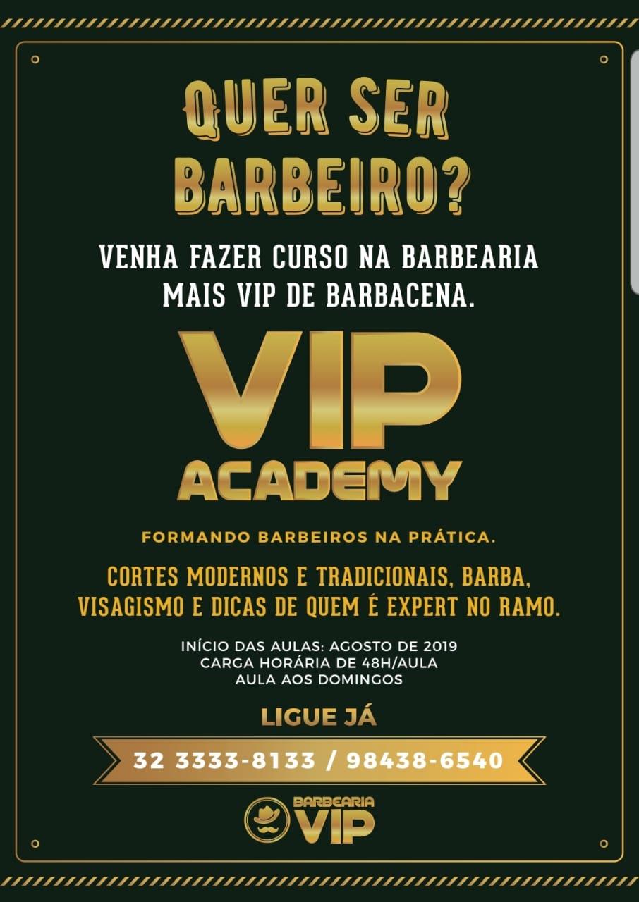 001 Vip Curso Barbeiro
