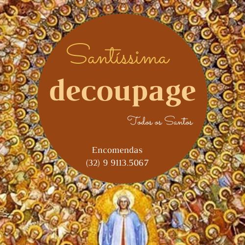 Santissima Decoupage
