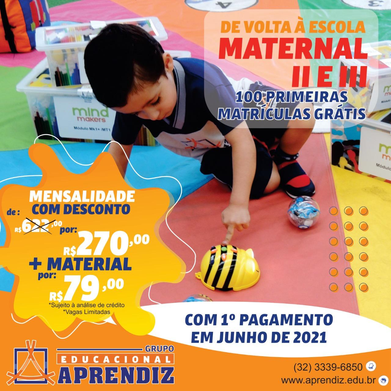 Aprendiz Maternal II e III