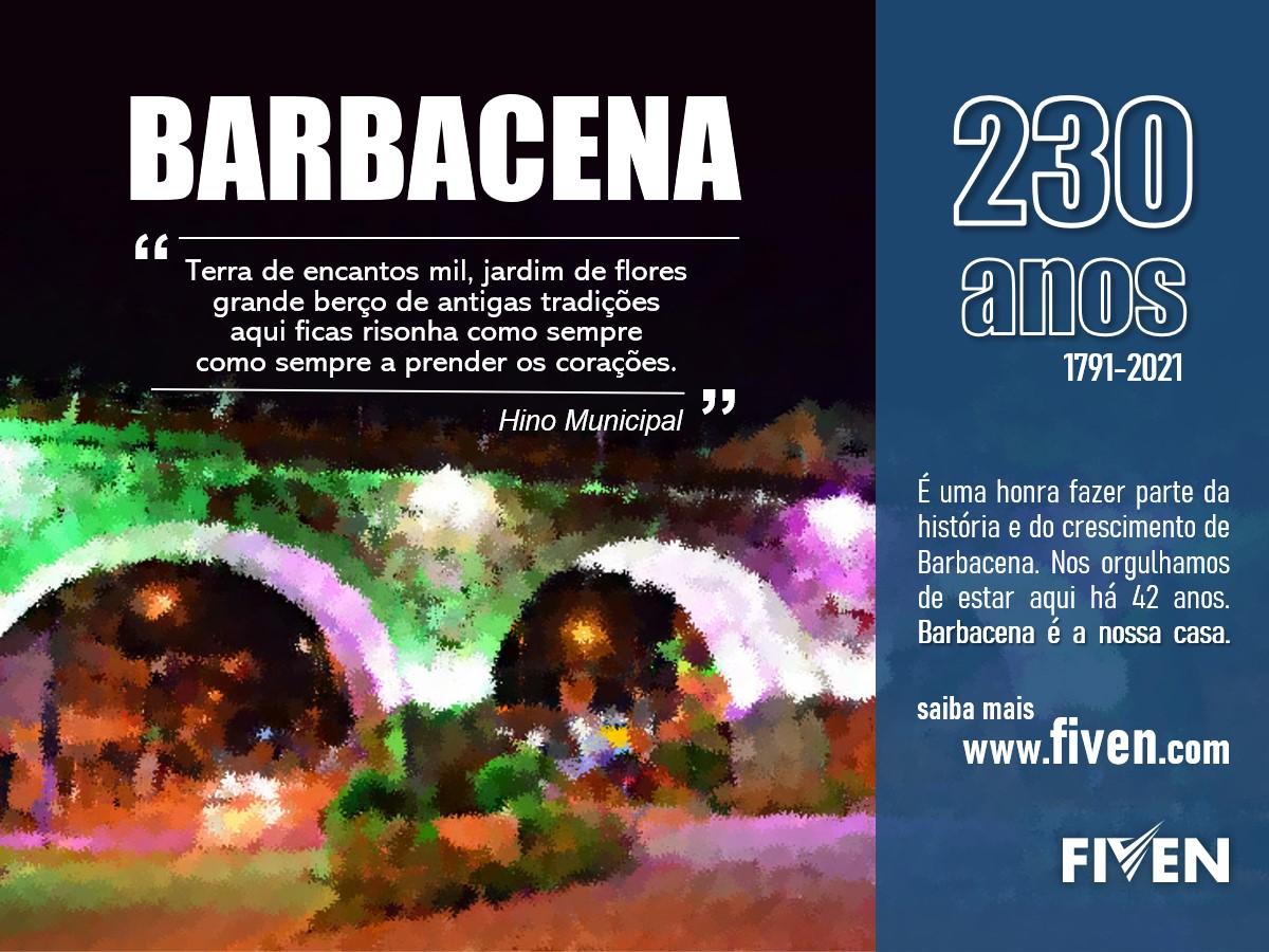 Fiven - Barbacena 230 anos