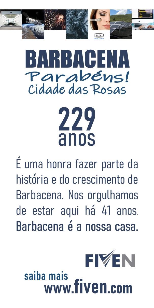 Fiven Barbacena 229 anos