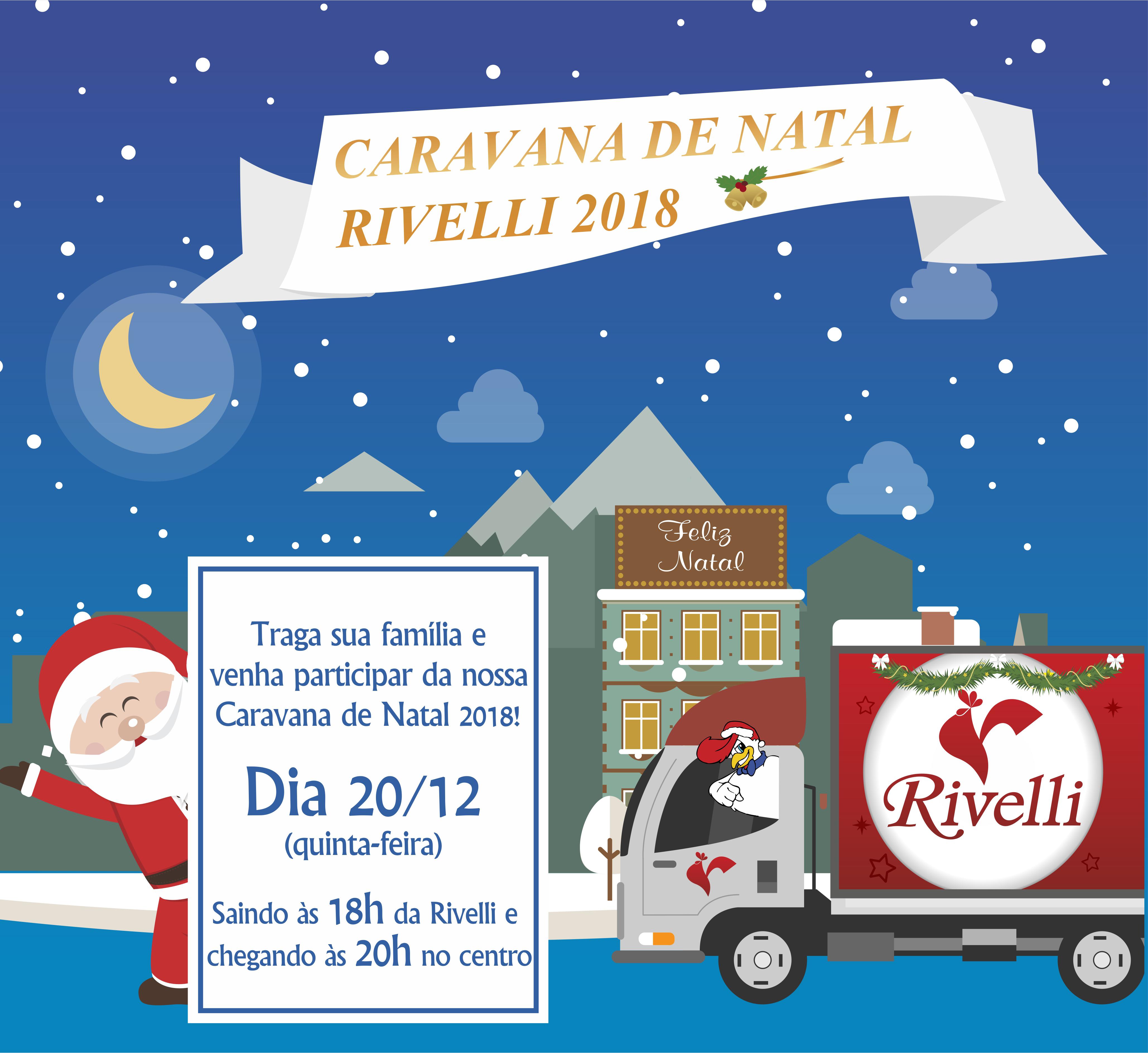 Caravana Natal 2018 Divulgao Interna